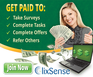 Clixsense, the best website in the world! Clixsense_gpt2016e300x250green