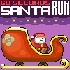60 seconds Santa Run